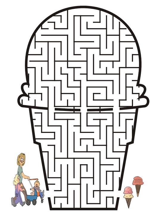 Childrens Maze | New Calendar Template Site