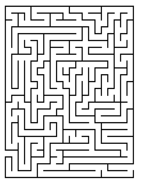 You can right click on any maze to print it
